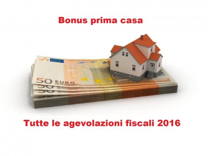 Prima casa tutte le agevolazioni fiscali del 2016 blog - Agevolazioni prima casa ...